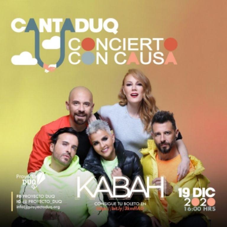 Kabah formará parte del show