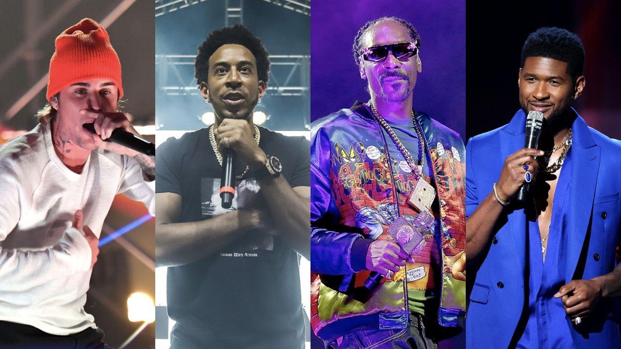 Escucha la sorprendente colaboración de Justin Bieber que hace con  Ludacris, Usher y Snoop Dogg   Puro Show